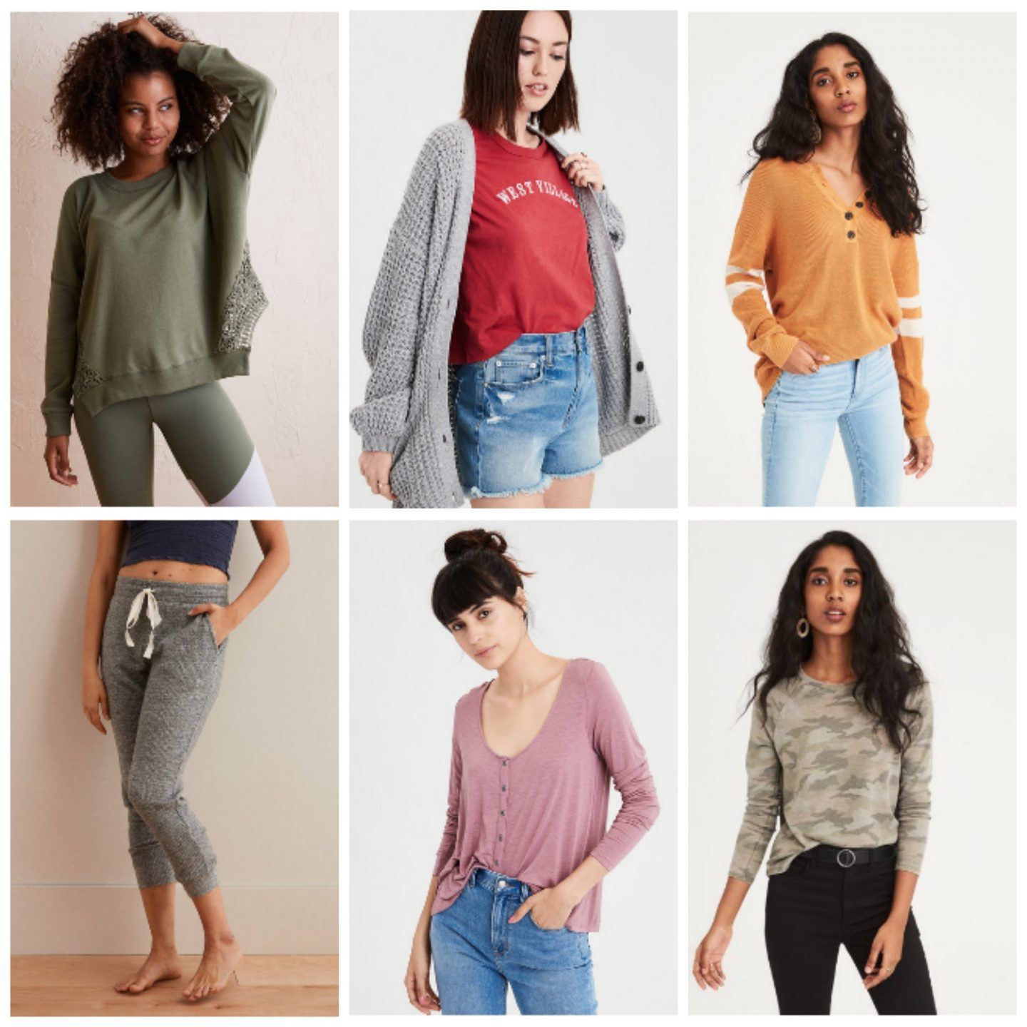 Tuesday's Cravings: American Eagle and Aerie