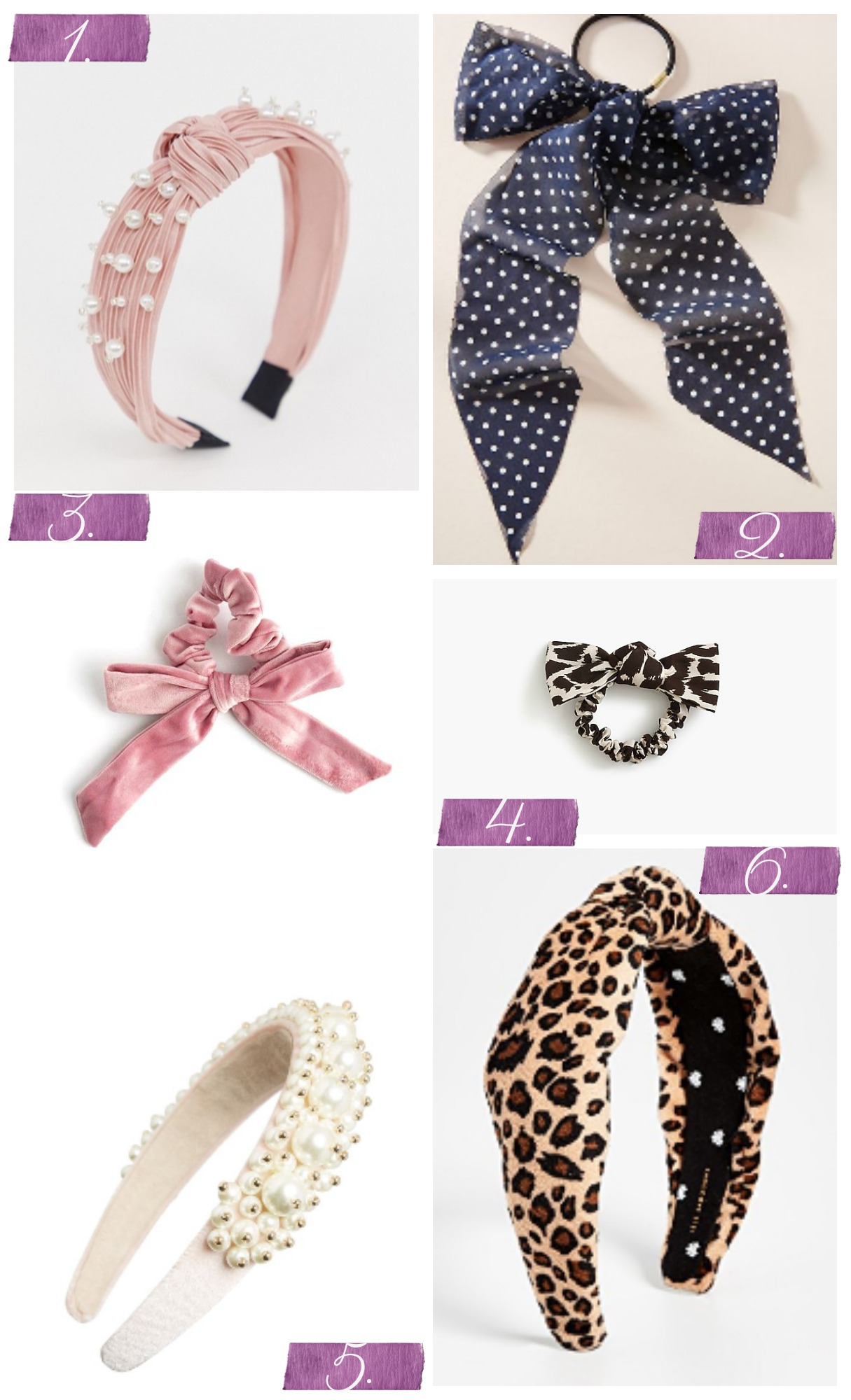 Tuesday's Cravings: Hair Accessories