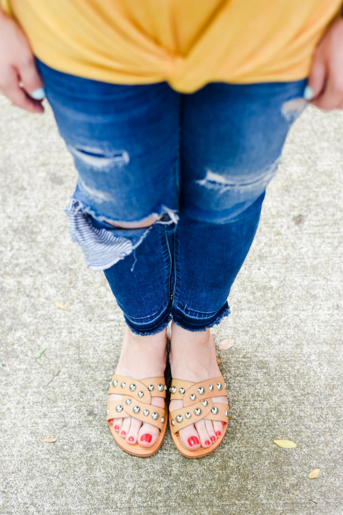 Studded Sandals-@headtotoechic-Head to Toe Chic