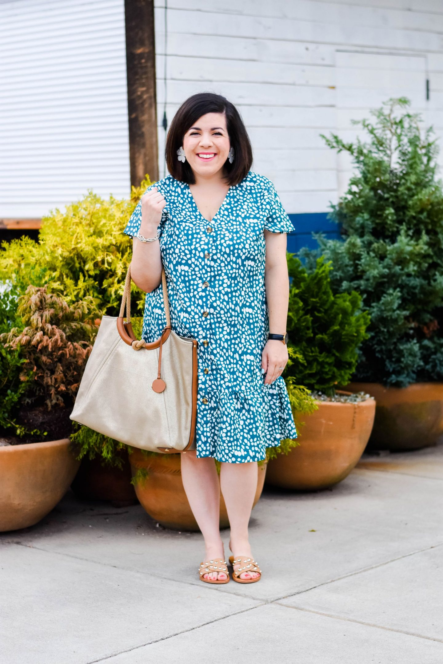 Button Down Dress-@headtotoechic-Head to Toe Chic