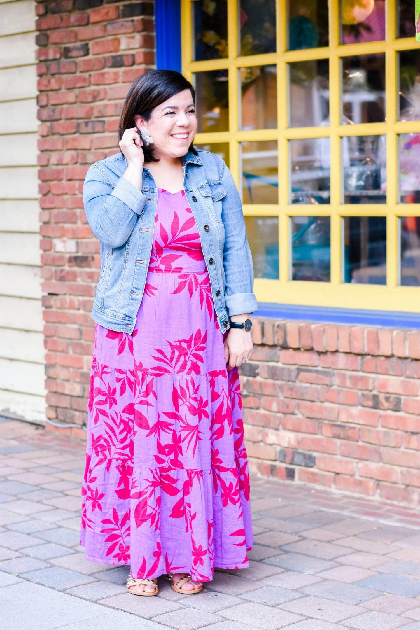 Floral Maxi-@headtotoechic-Head to Toe Chic