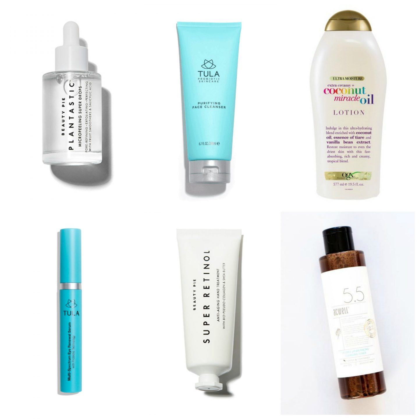 Current Skincare Favorites