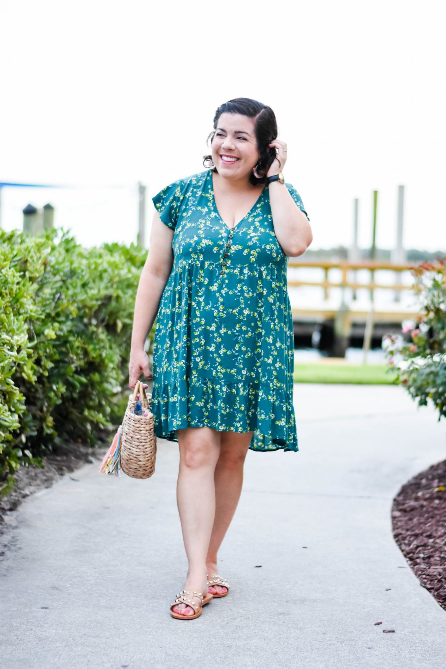 Floral Print Summer Dress-@headtotoechic-Head to Toe Chic