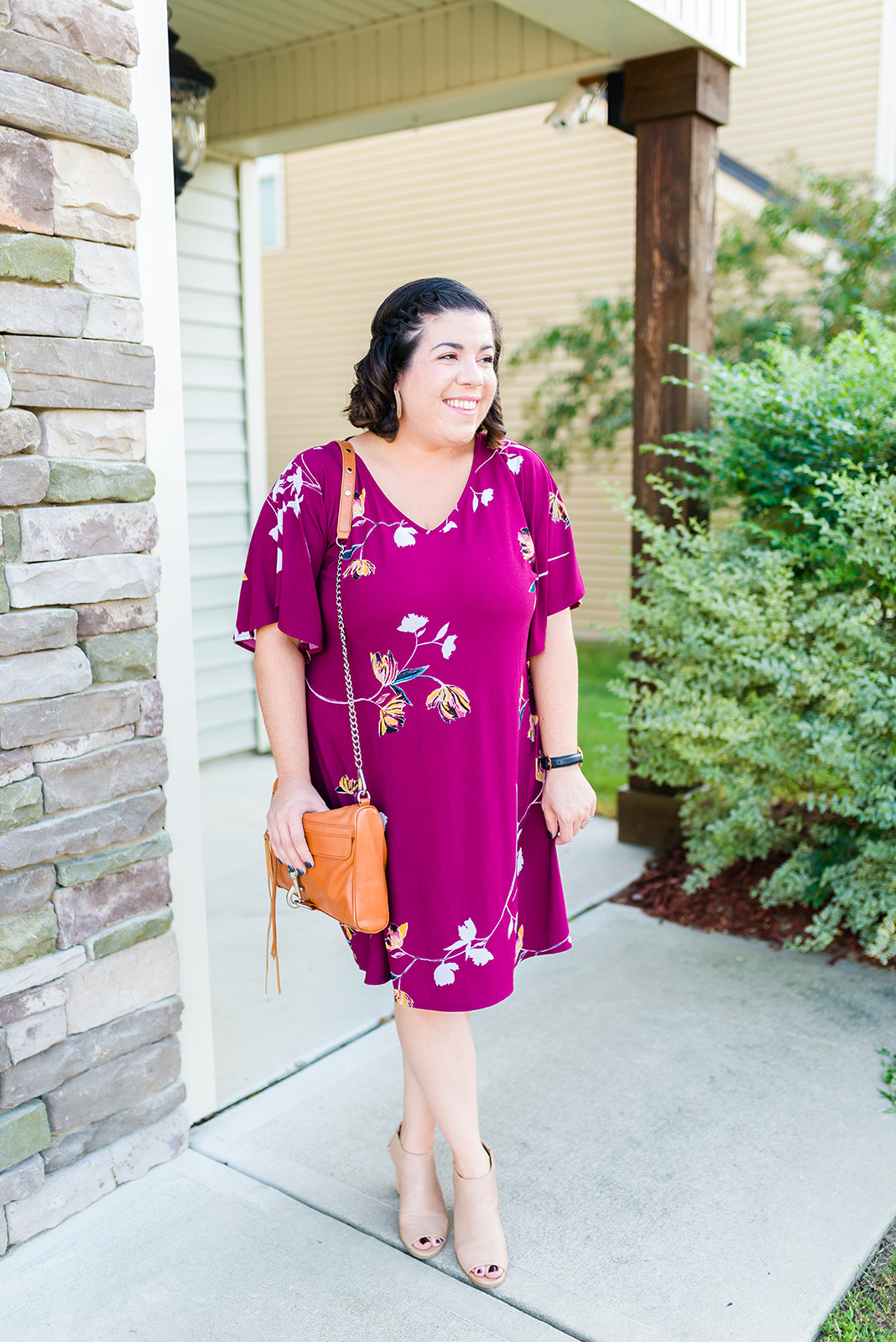 Flutter Sleeve Dress-@headtotoechic-Head to Toe Chic