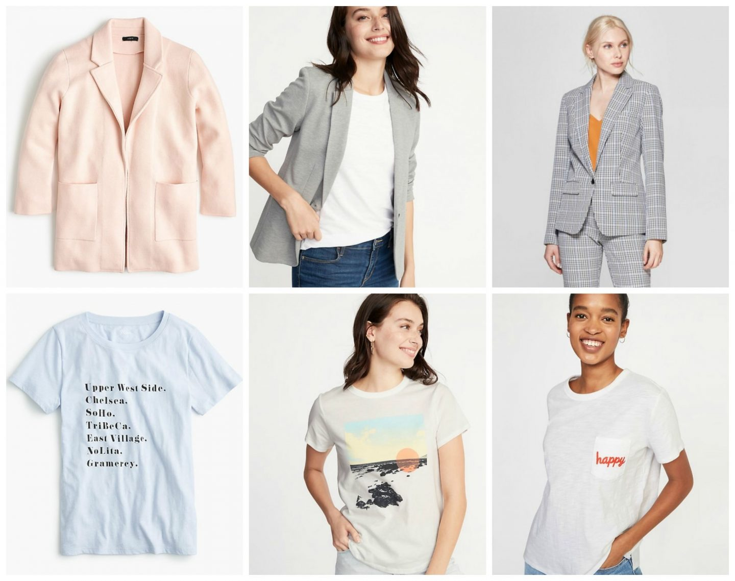 Tuesday's Cravings: Blazers and Graphic Tees